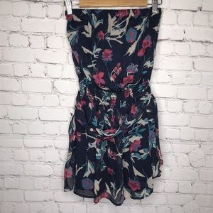 Collective Concepts Strapless Floral Dress